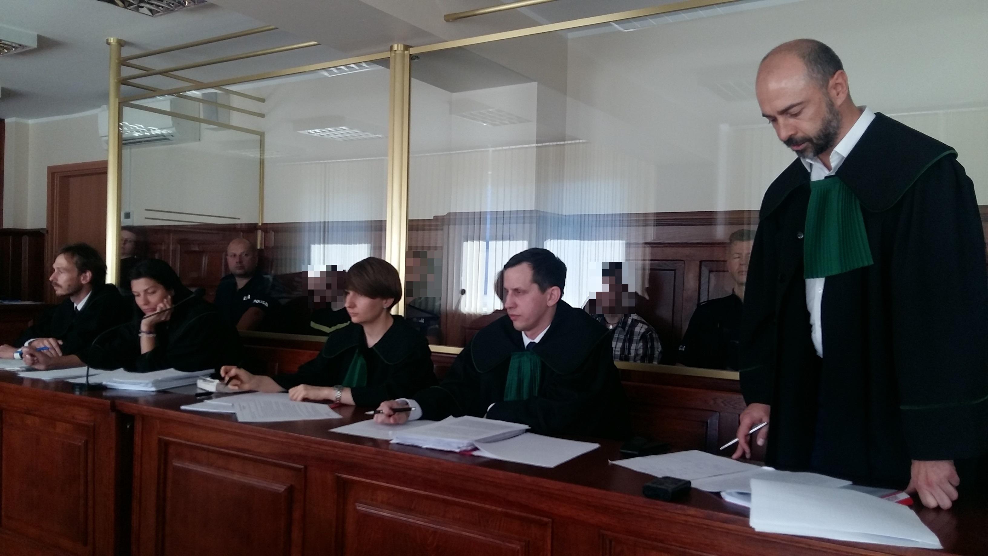 samosąd pod sierakowem sprawa sąd proces - Magdalena Konieczna