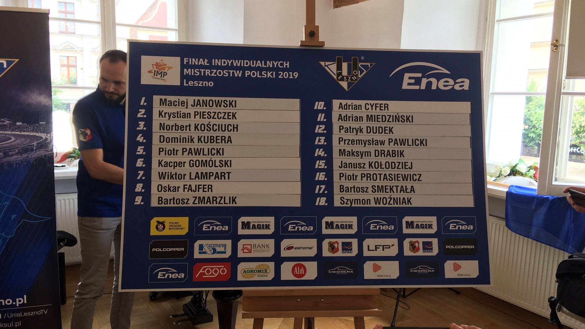Finał indywidualnych mistrzostw Polski na żużlu - Jacek Marciniak
