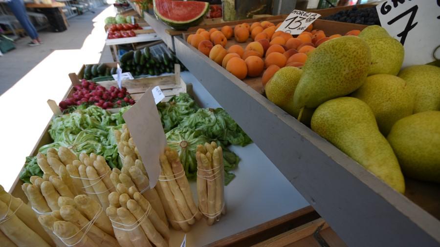 targowisko targ warzywa  - Wojtek Wardejn