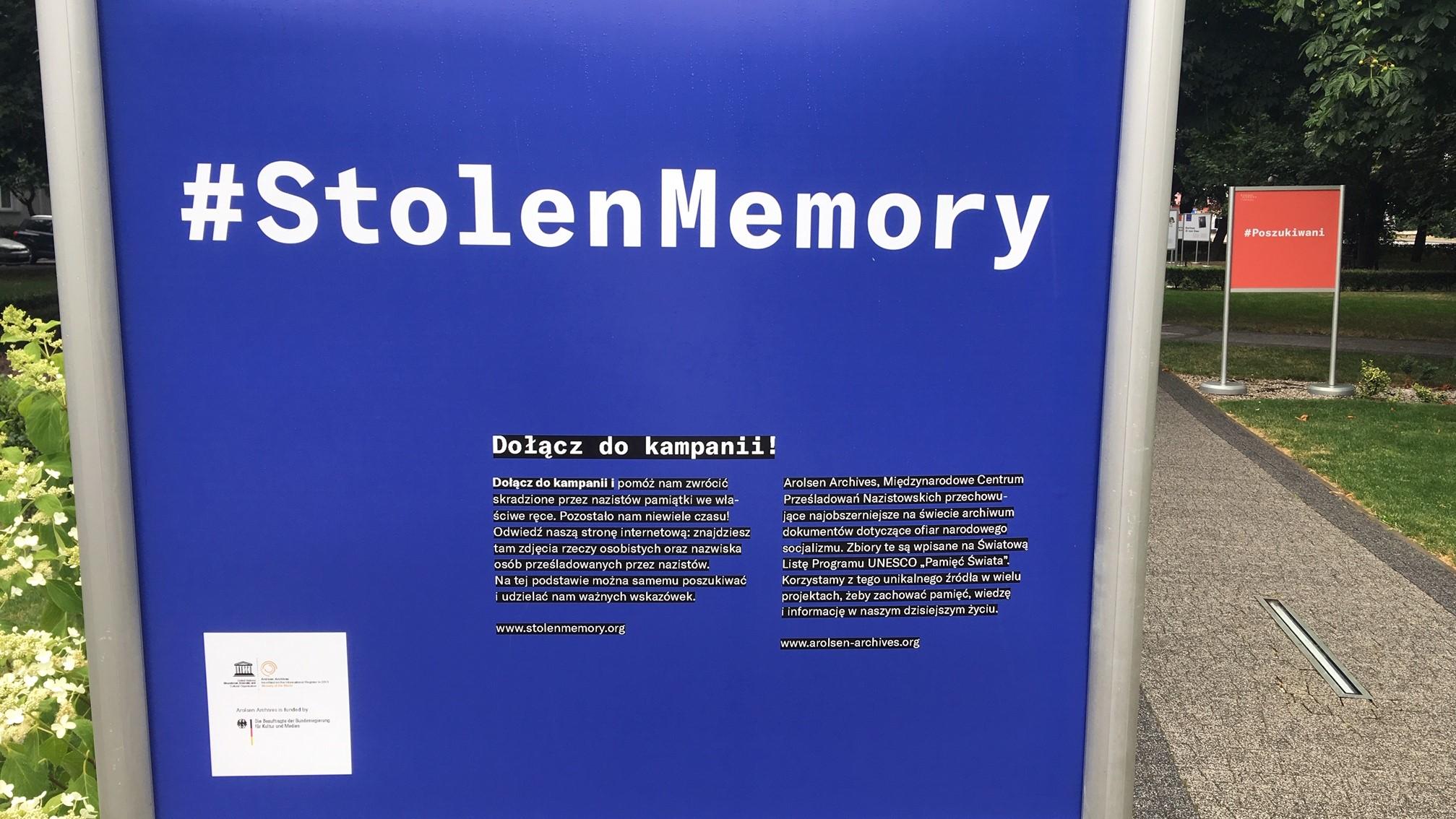 skradziona pamięć stolen memory gostyń wystawa pamiątki obozy koncentracyjne - Jacek Marciniak