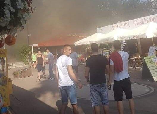 pożar skorzęcin smażalnia - Hubert Jach