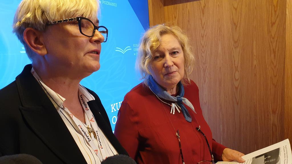 Wielkopolska Kurator Oświaty Elżbieta Leszczyńska - Michał Jędrkowiak