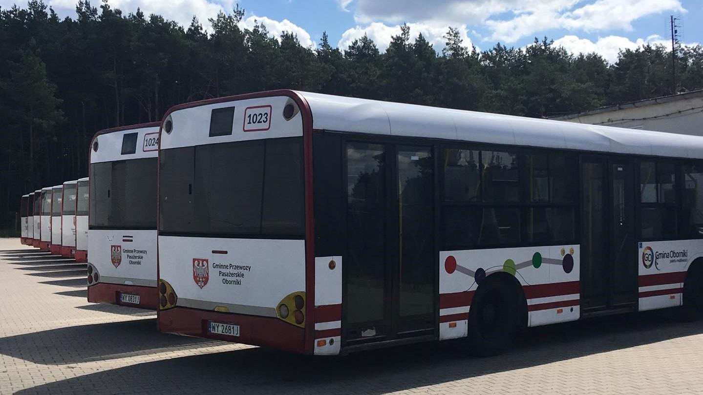 autobusy miejskie Oborniki paraliż komunikacyjny  - Jacek Butlewski
