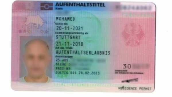 sfałszowana karta pobytu w niemczech - Nadodrzański Oddział Straży Granicznej