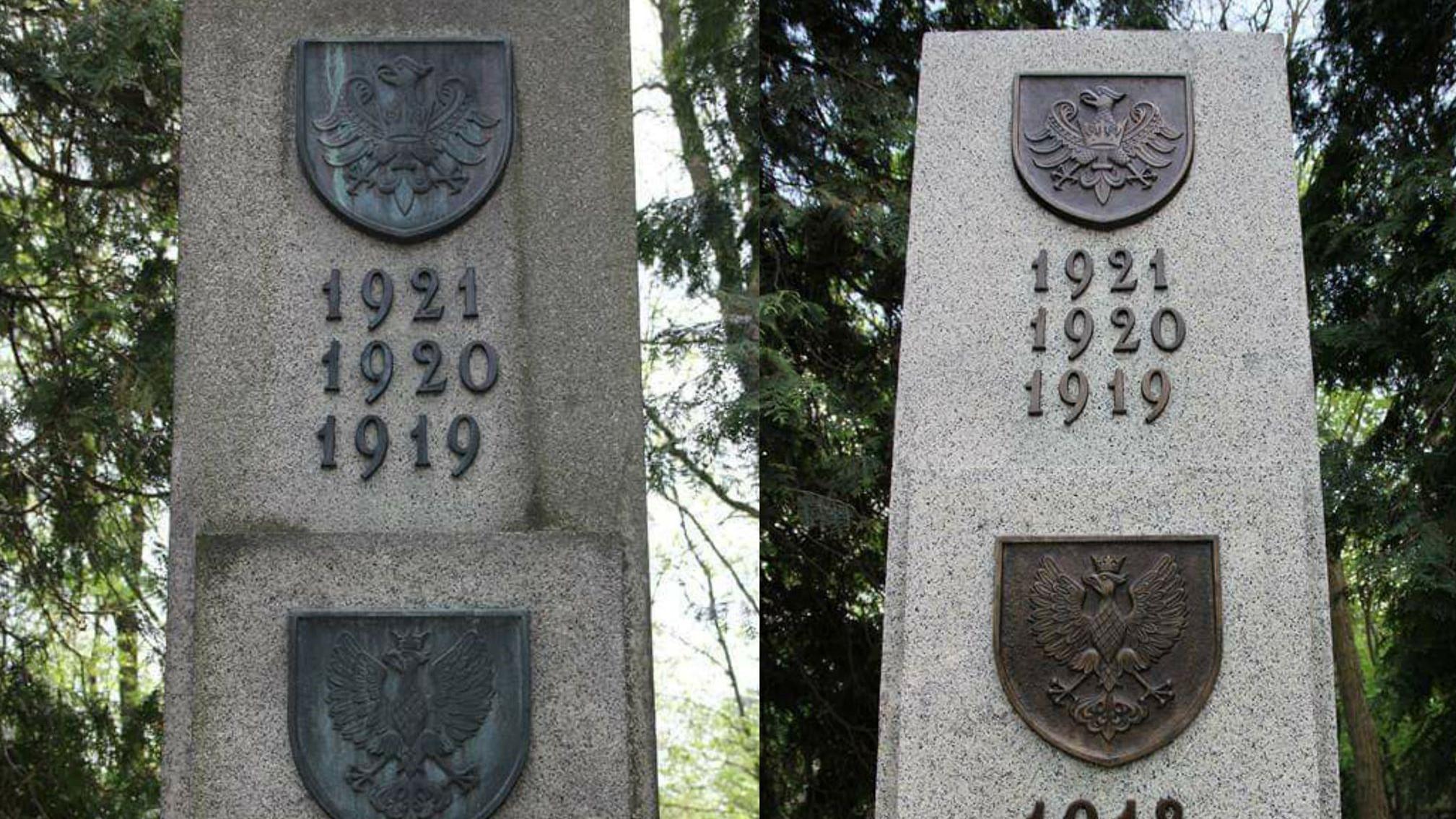 pomnik kwatera powstańcy wielkopolscy odnowiona odnowiony warszawa powązki - Instytut Poznański