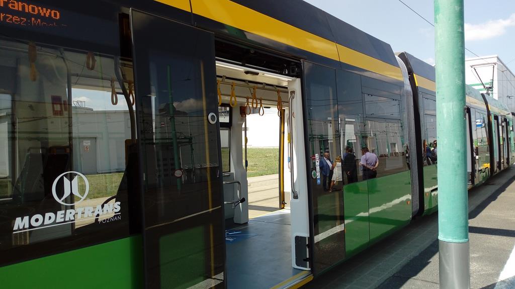 Nowy tramwaj na naramowice - Leon Bielewicz