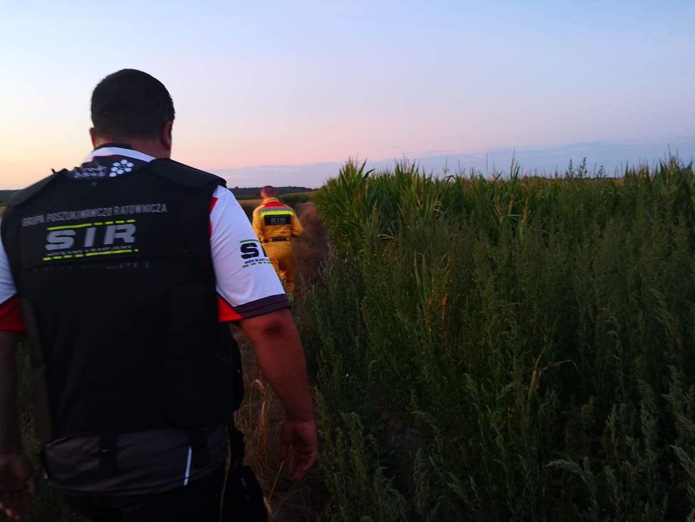 Szczęśliwy finał poszukiwań 62-letniej mieszkanki gminy Kórnik - Grupa Poszukiwawczo - Ratownicza