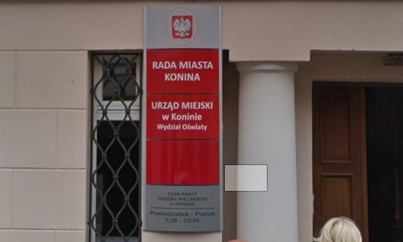 Rada Miasta Konin - Goggle street view