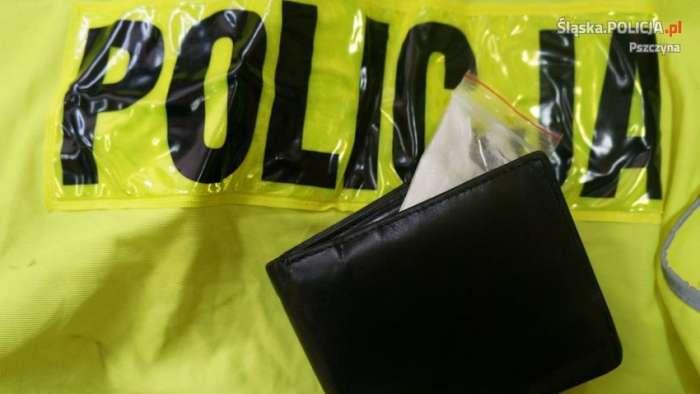 amfetamina portfel - Śląska policja