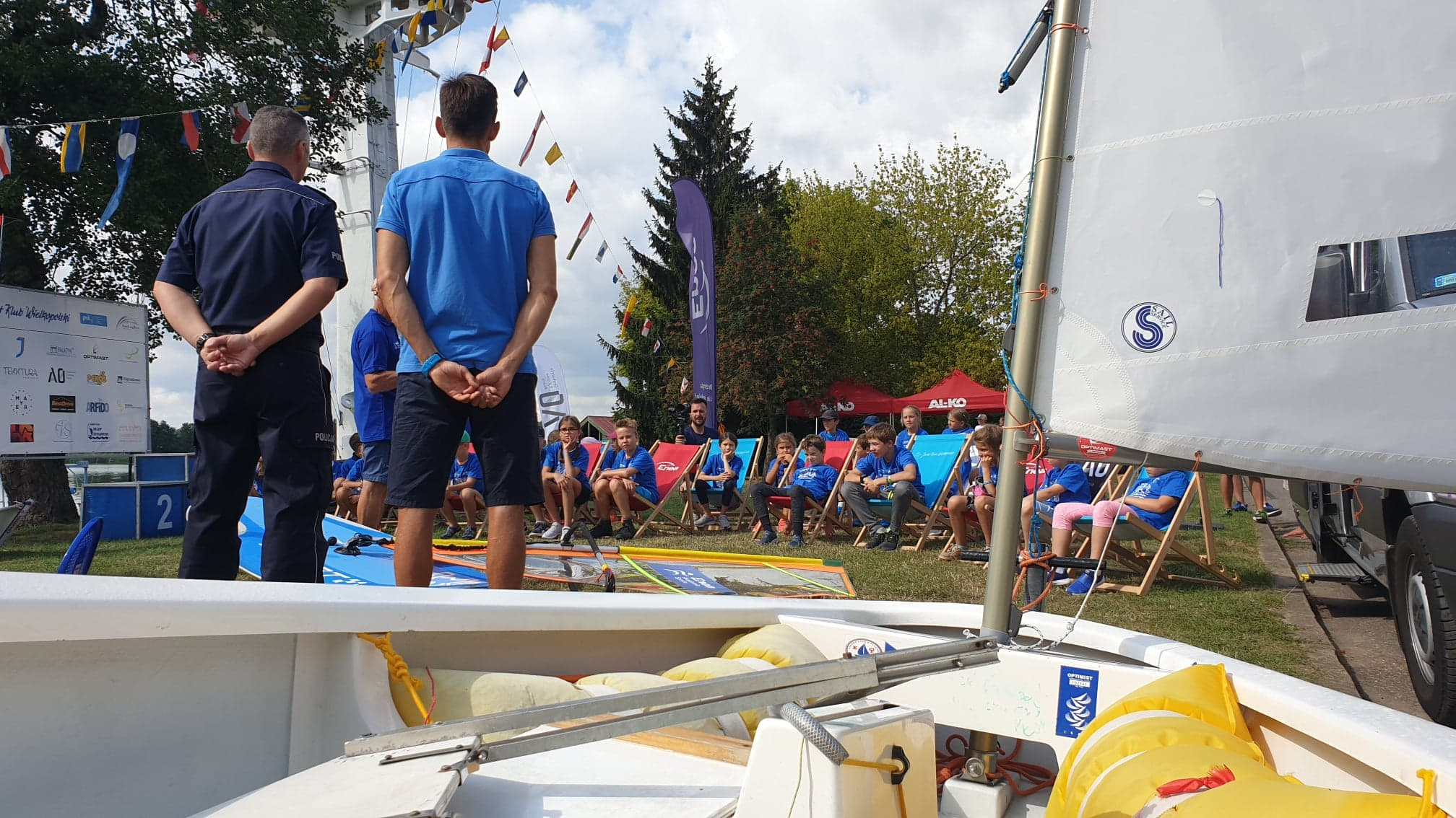 jezioro kierskie dzieci uczą się o bezpieczeństwie - Michał Jędrkowiak