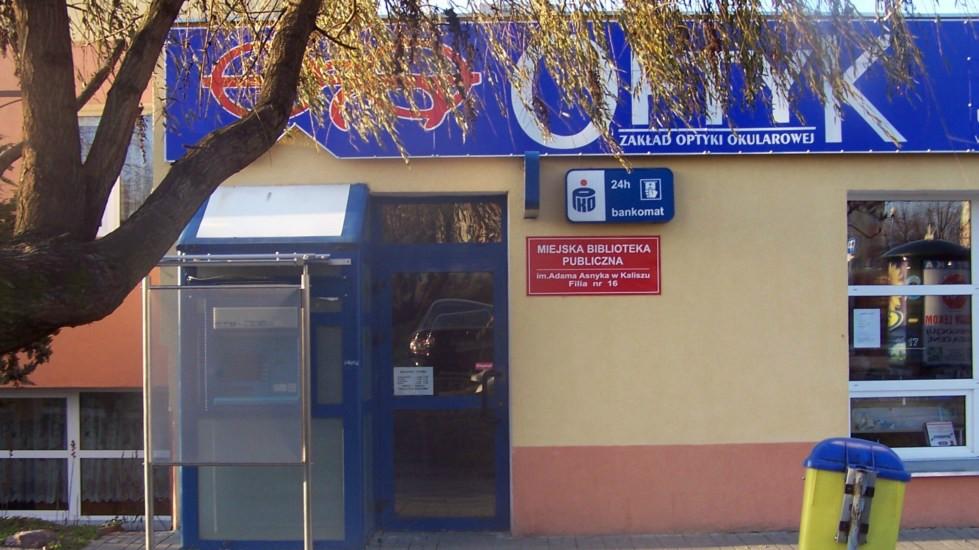 biblioteka publiczna wysadzenie bankomatu kalisz - www.mbp.kalisz.pl