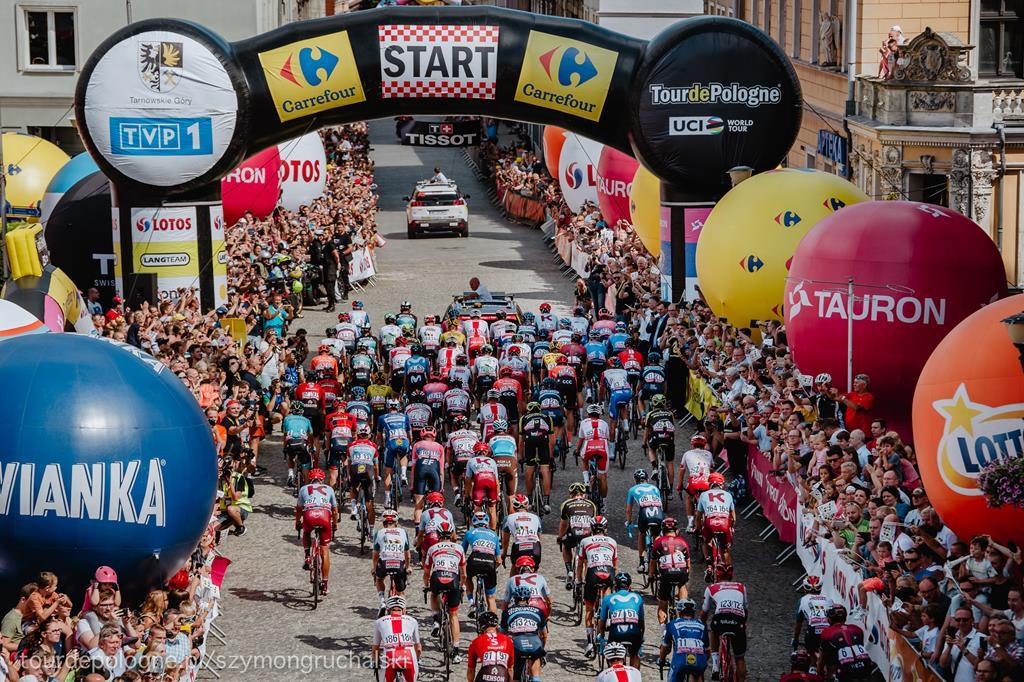 tour de pologne - tourdepologne.pl/Szymon Gruchalski