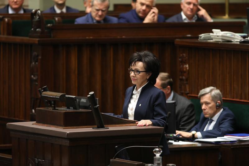 elzbieta witek - Kancelaria Sejmu/Rafał Zambrzycki