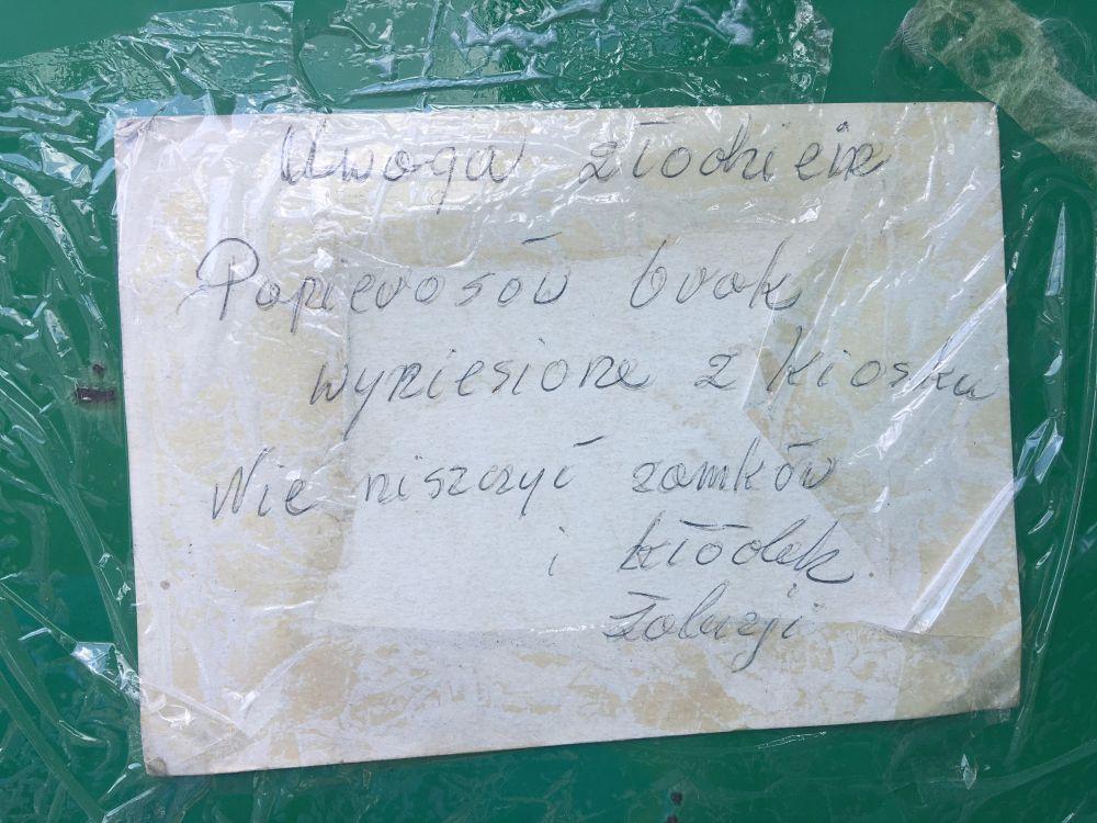 kioskarka ląd - Sławomir Zasadzki