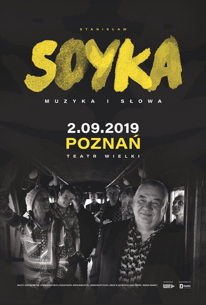 Soyka Poznań plakat - Materiały prasowe