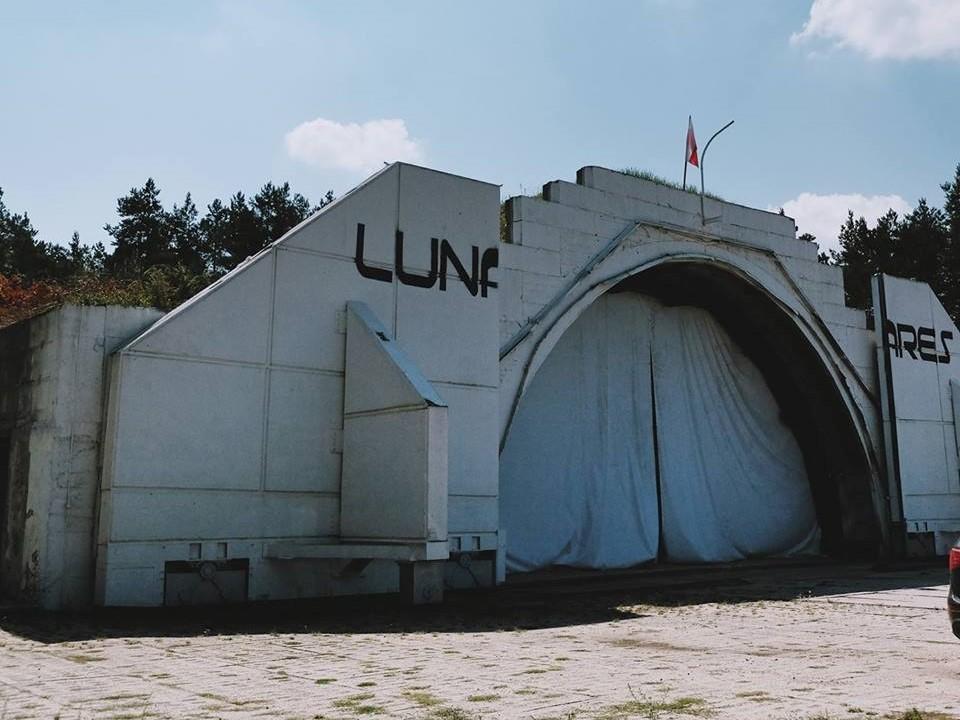 Lunares - Mobile Research Station baza kosmiczna piła - FB: Lunares - Mobile Research Station