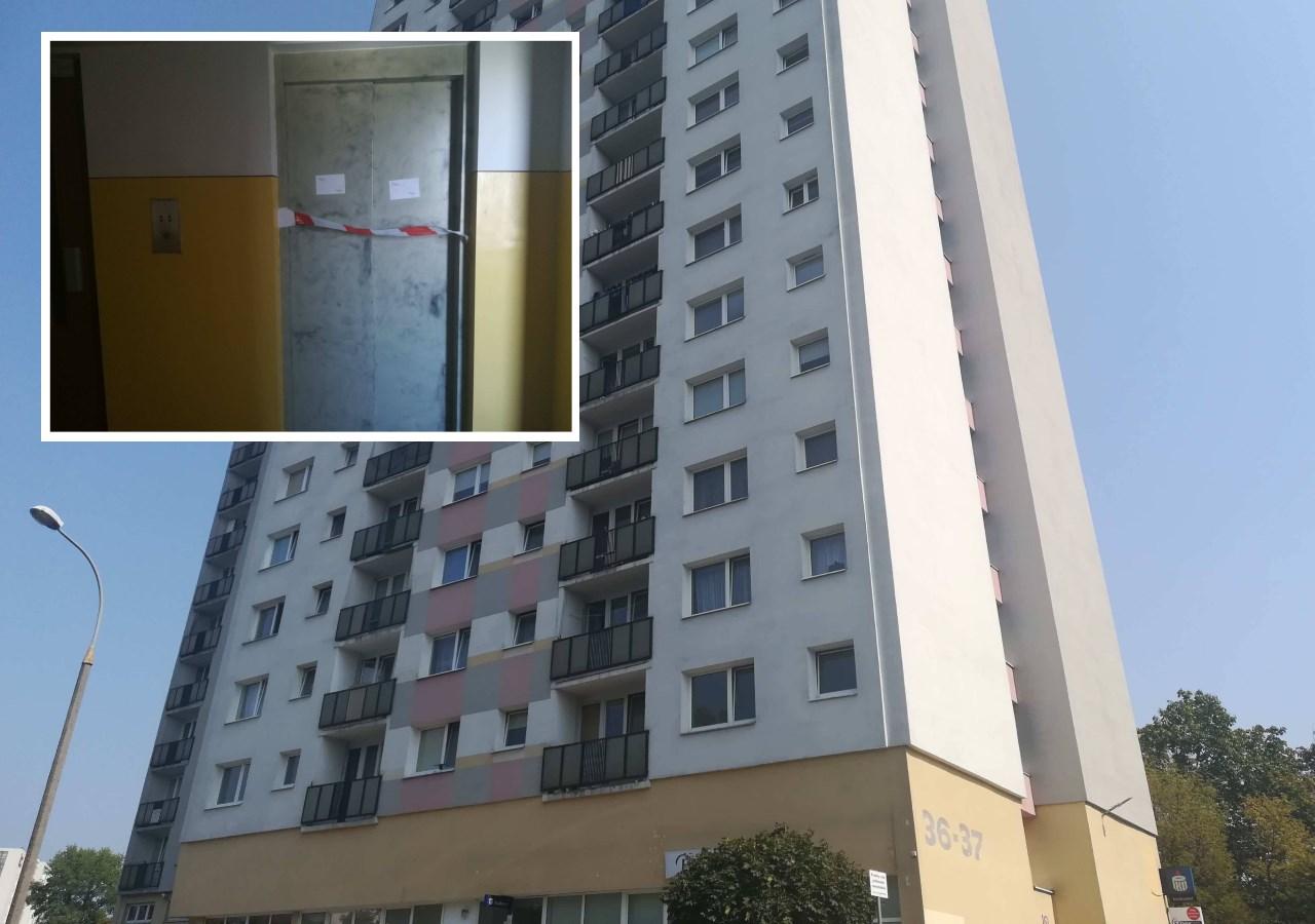 rataje wypadek osiedle piastowskie mężczyzna wpadł do szybku - Sandra Soluk