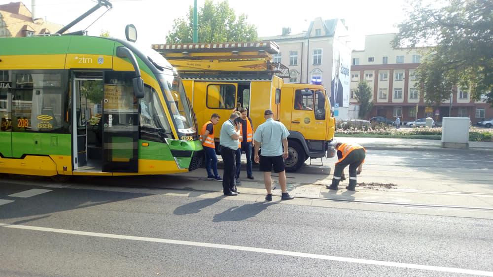 Głogowska tramwaj Poznań - Leon Bielewicz