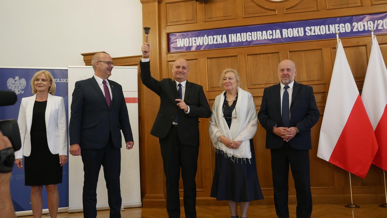 Wojewódzka inauguracja roku szkolnego - Sławomir Zasadzki