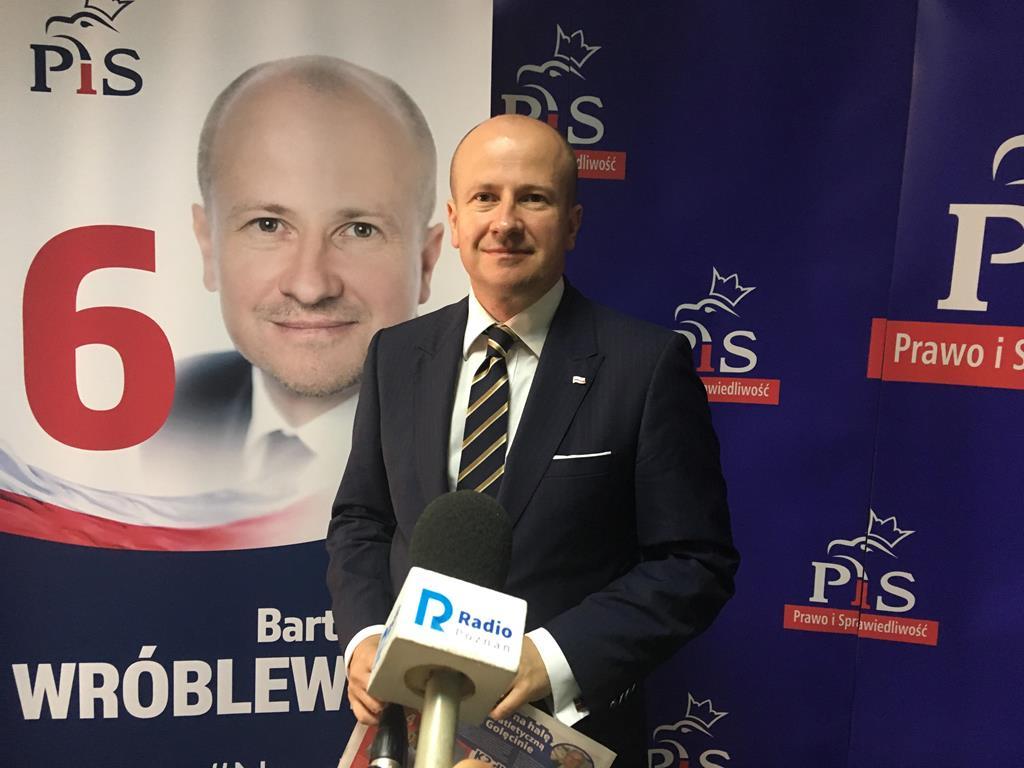 Bartłomiej Wróblewski szóstka dla Poznania - Jacek Butlewski