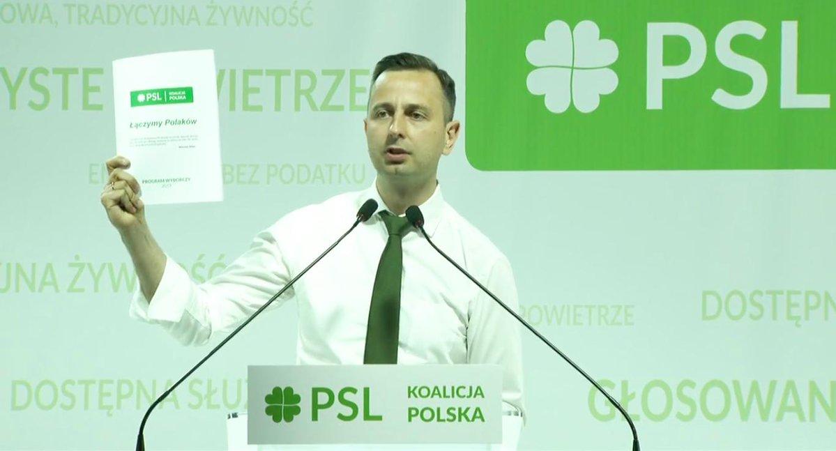 władysław kosiniak kamysz psl konwencja  - Polskie Stronnictwo Ludowe (Twitter)
