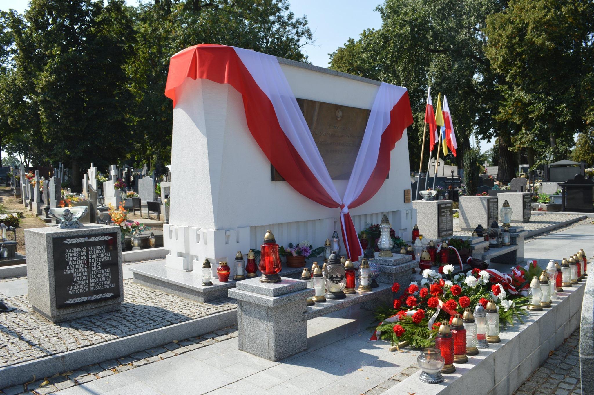 trzemeszno ii wojna światowa pomnik - FB: Gmina Trzemeszno