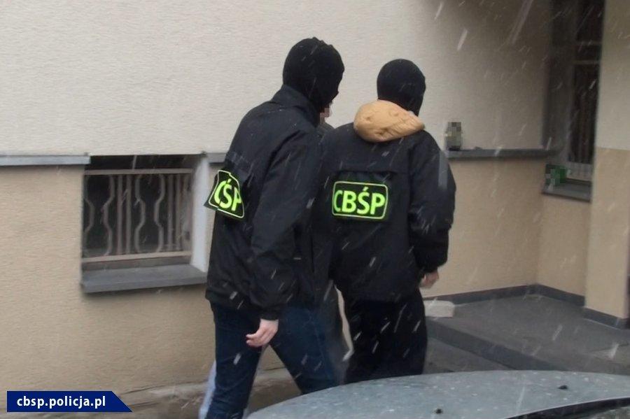 zatrzymanie geringa - cbsp.policja.pl