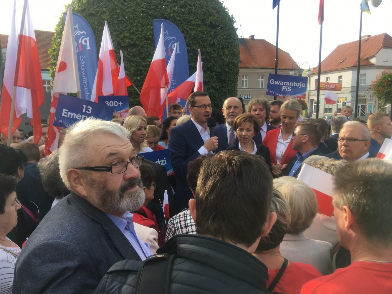 premier Mateusz Morawiecki w Pleszewie - Rafał Regulski