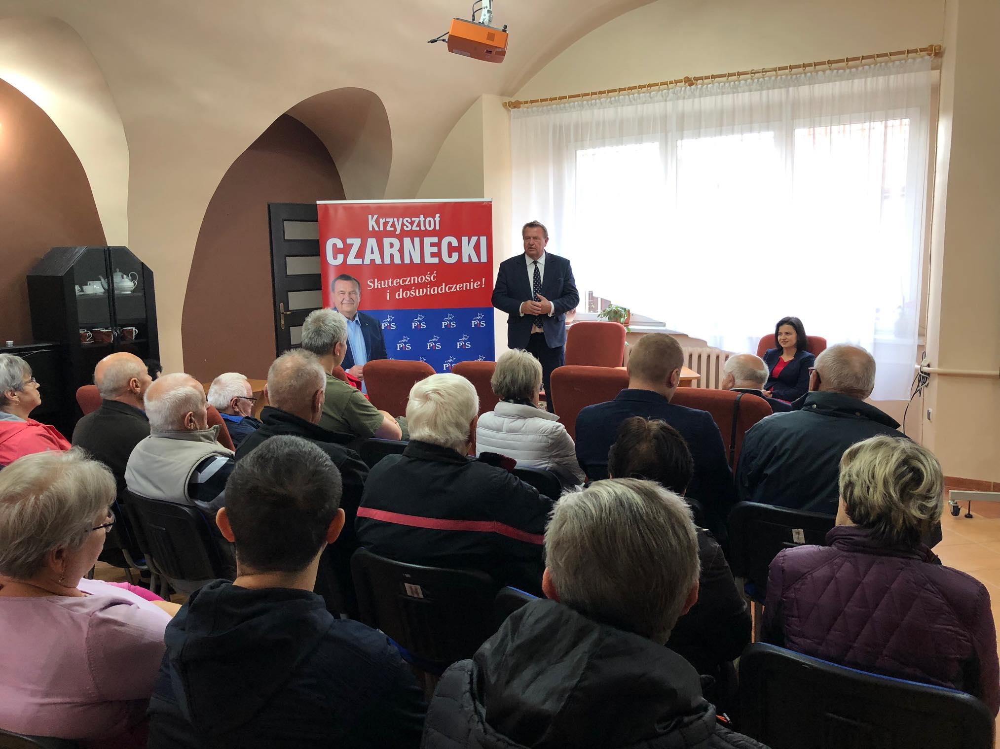 Krzysztof Czarnecki w Jastrowiu - Przemysław Stochaj