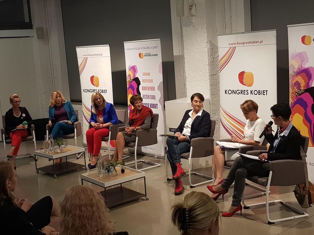 debata kongres kobiet - Hubert Jach