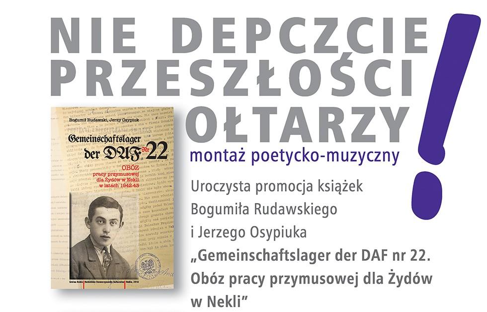 """""""Nie depczcie przeszłości ołtarzy""""  - ntt.nekla.eu"""