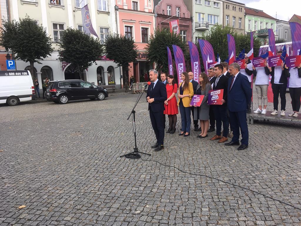 lewica biedroń w lesznie - Jacek Marciniak