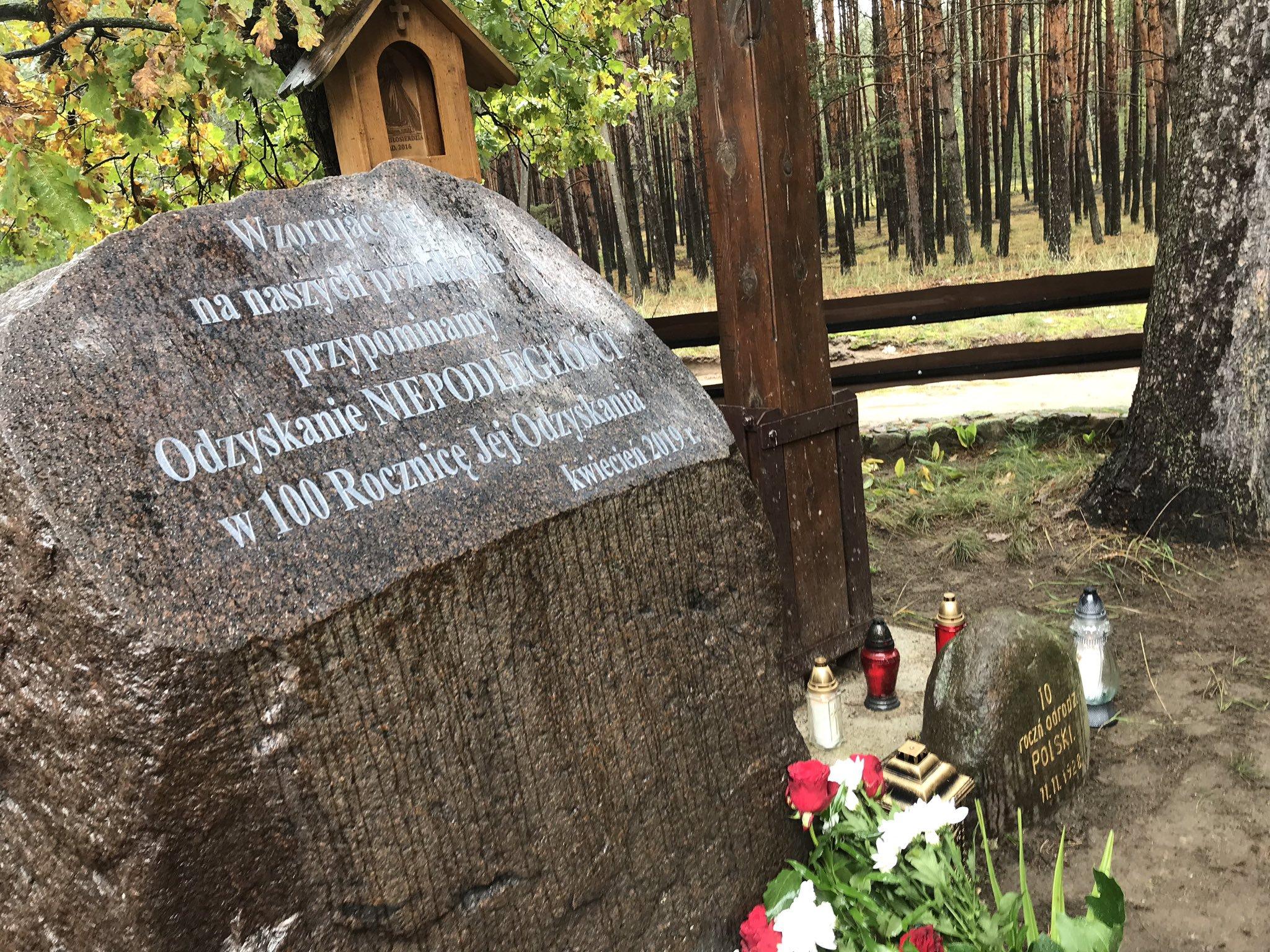 kamień niepodległościowy gogolice  - TT: ks. Daniel Wachowiak