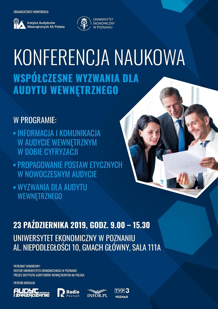Konferencja_IIA_Poznan_Plakat_A3_#03 - Materiały prasowe