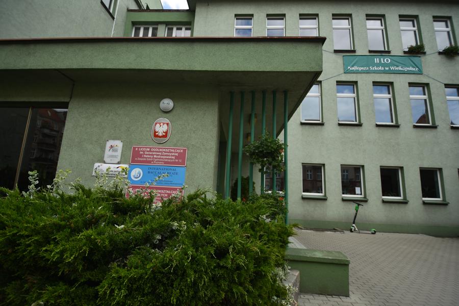 II LO w Poznaniu - Wojtek Wardejn
