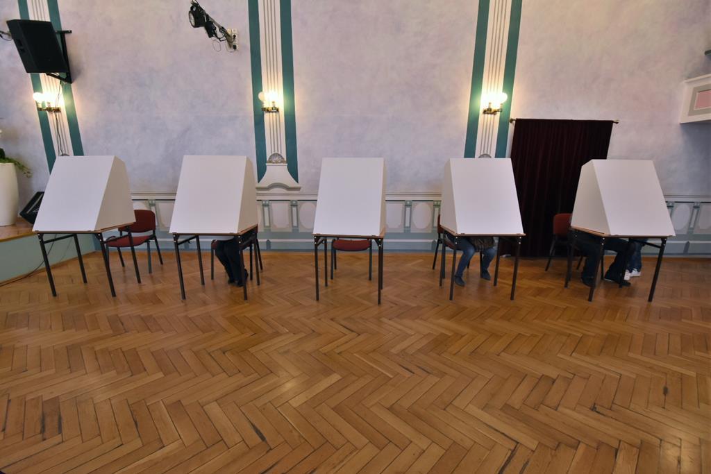 głosowanie wybory - Wojtek Wardejn