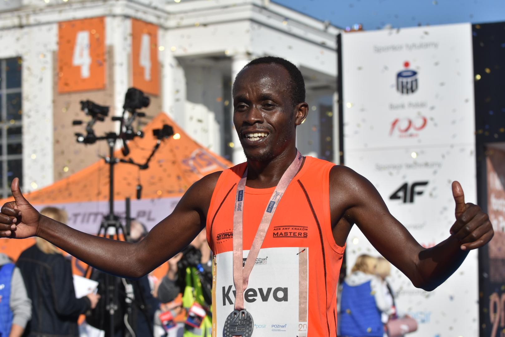 maraton 2019 zwycięzca - Wojtek Wardejn