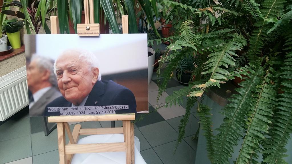 Prof. Łuczak księga kondolencyjna