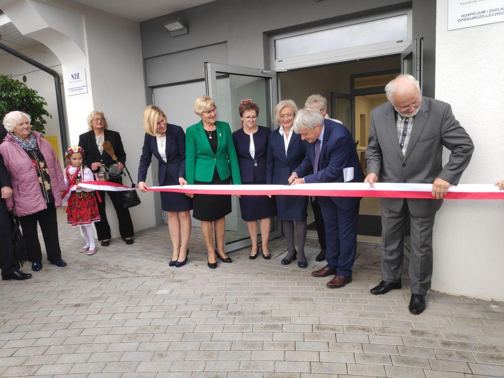otwarcie hospicjum w Pile - Przemysław Stochaj
