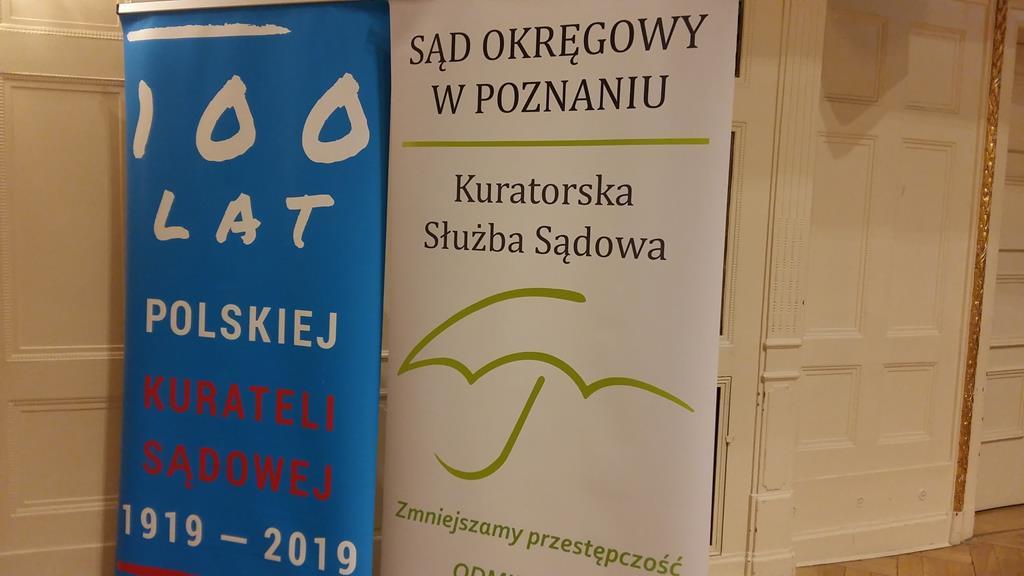 Kuratorzy sądowi świętują w Poznaniu stulecie działalności - Magdalena Konieczna