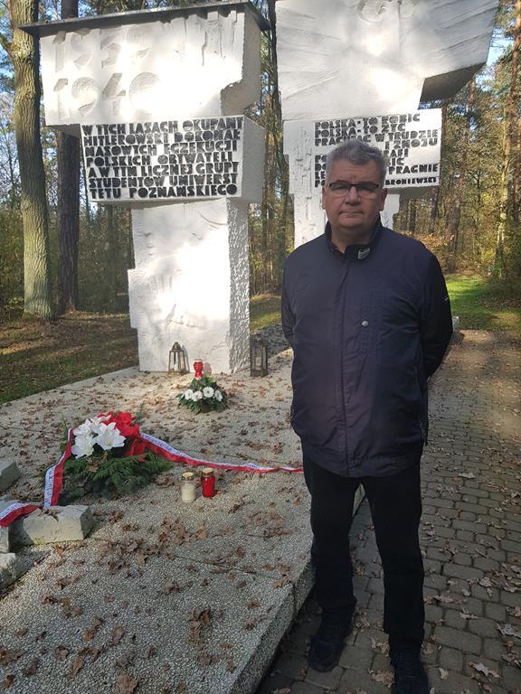 Groby w lesie zakrzewskim gmina Dopiewo (Jan Bąk)