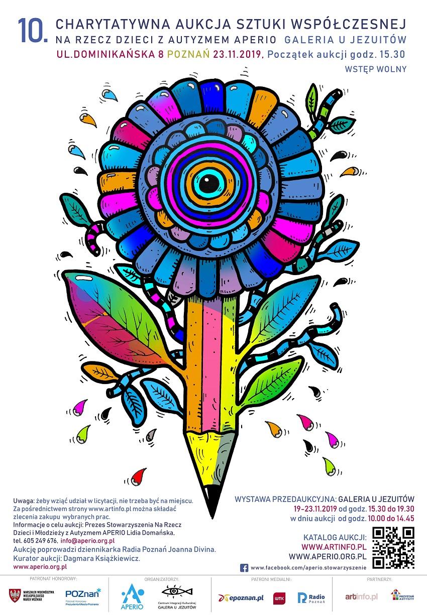 Aukcja_2019_plakat_70x100 - Materiały prasowe