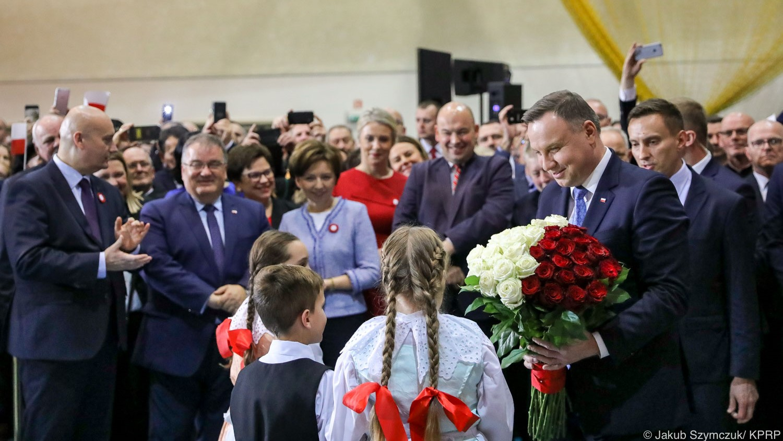 Andrzej Duda w Jarocinie  - Kancelaria Prezydenta RP