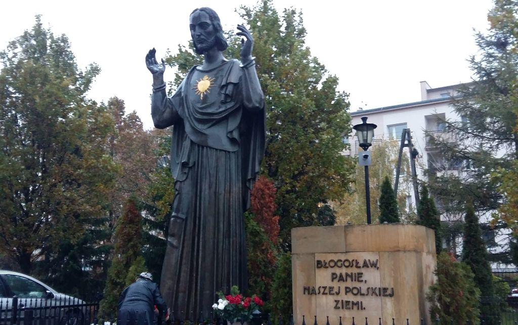 pomnik wdzięczności Jezus - Magda Konieczna