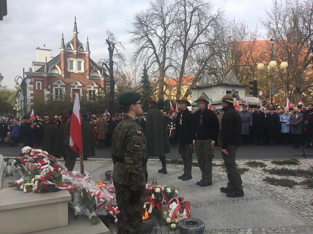 kalisz święto niepodległości 11 listopada - Danuta Synkiewicz