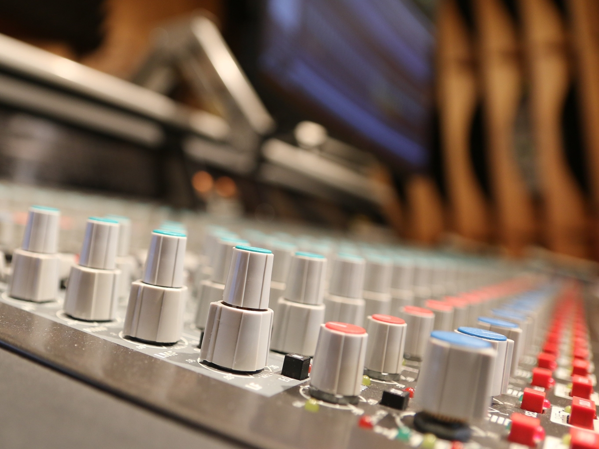 radio studio nagrań muzyka - Kacper Witt - Radio Poznań
