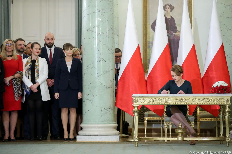 jadwiga emilewicz minister zaprzysiężenie rządu - Krzysztof Sitkowski - KPRP