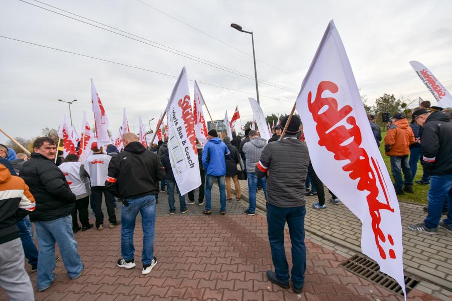 solidarność solaris protest - Wojtek Wardejn - Radio Poznań