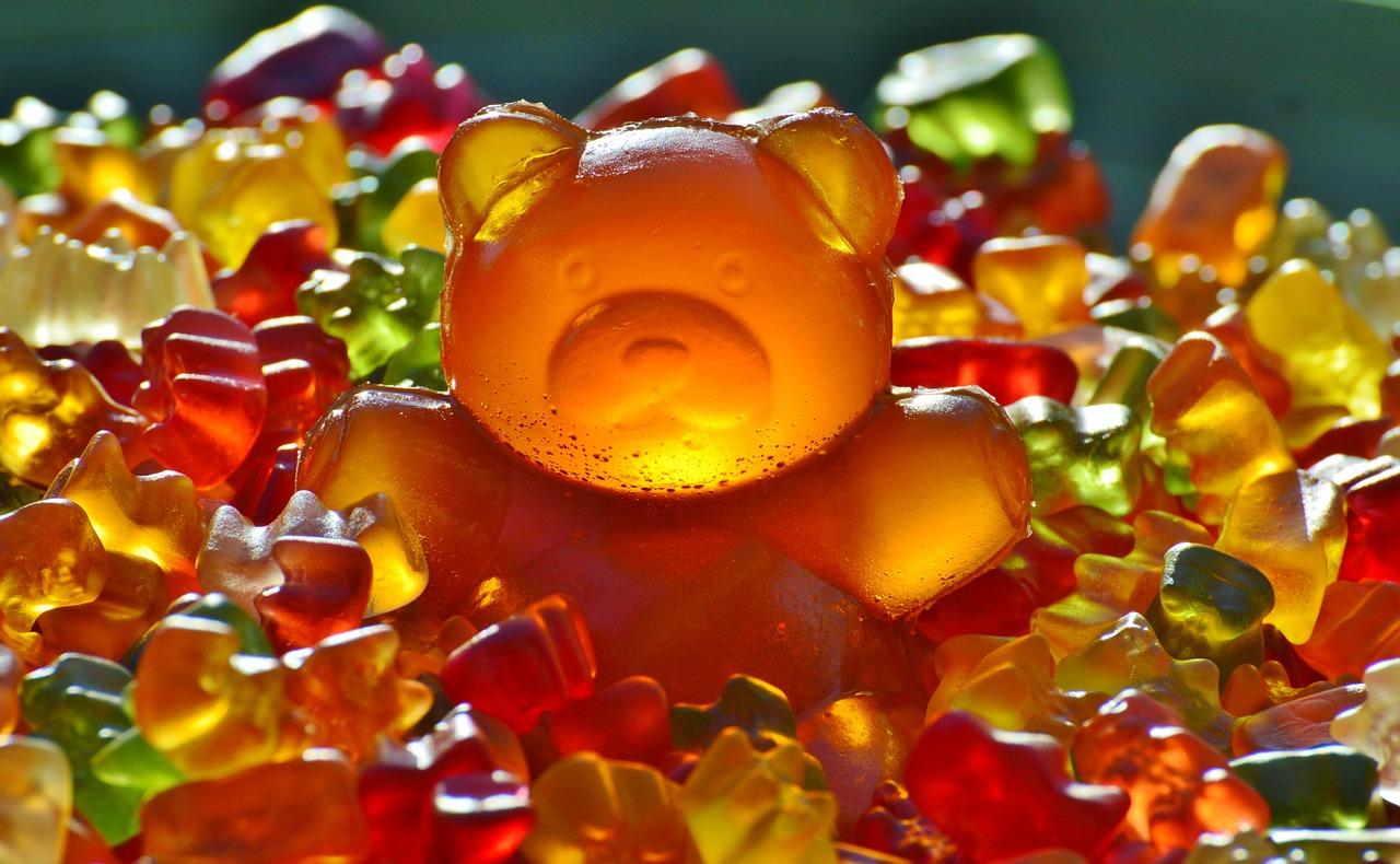 miś gumiś żelki słodycze - Pixabay