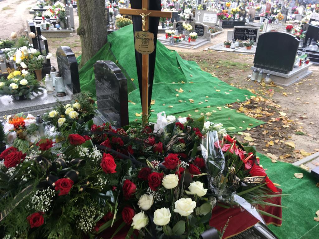 pogrzeb juliusza paetza  - Adam Michalkiewicz